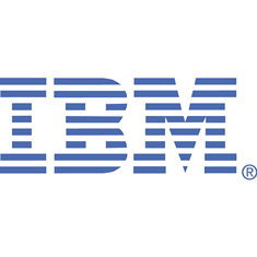 IBM logo white
